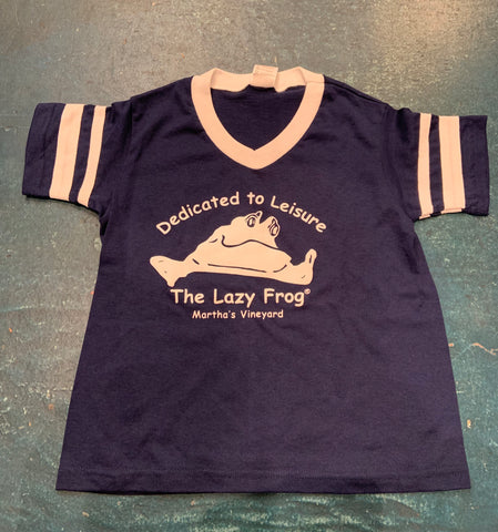 Lazy Frog Soccer Youth Tshirt