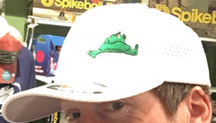Lazy Frog Flexfit White Hat