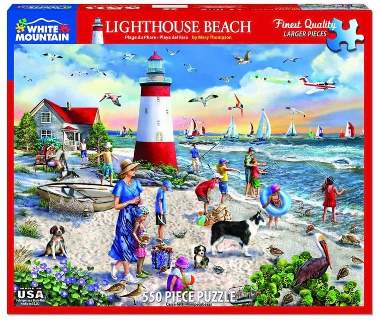 Puzzle Lighthouse Beach