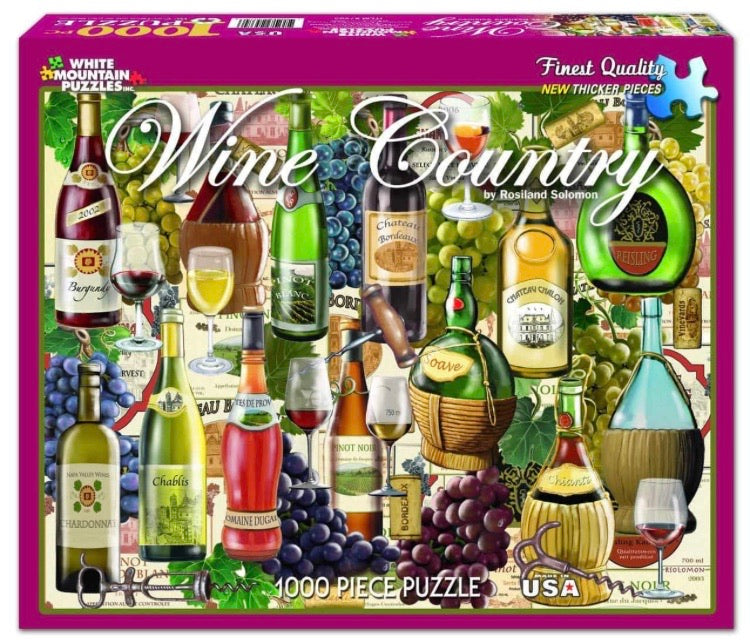 Puzzle Wine Country