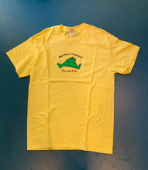Lazy Frog Yellow T-shirt