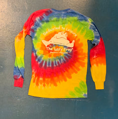 Lazy Frog Long Sleeve Tie Dye