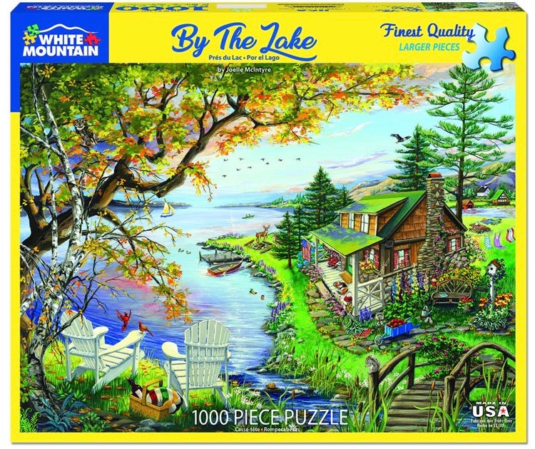 Puzzle By the Lake