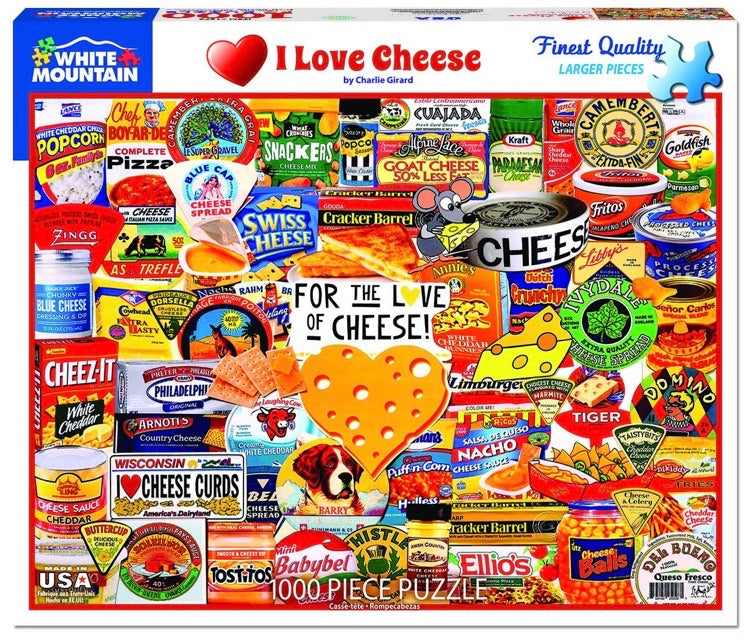 Puzzle I Love Cheese