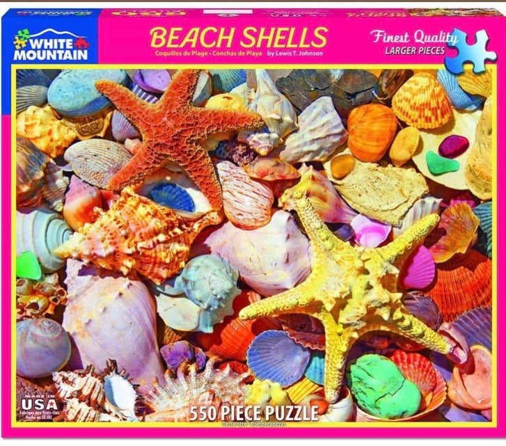 Puzzle Beach Shells