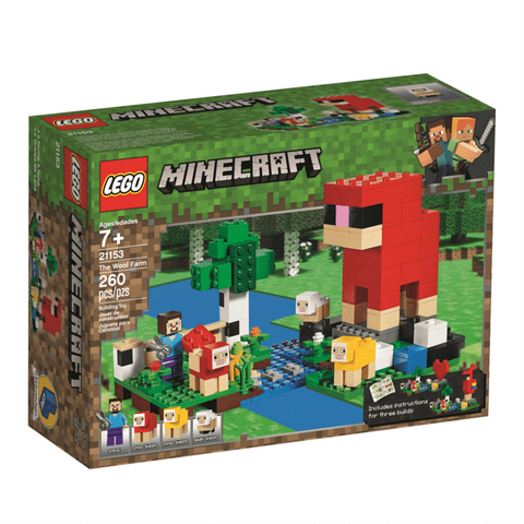 Lego 21153 Minecraft Wool Farm