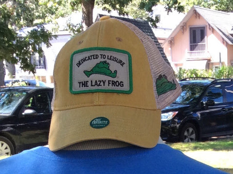 Lazy Frog Trucker Hat