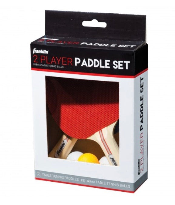 Table Tennis 2 Player Paddle Set