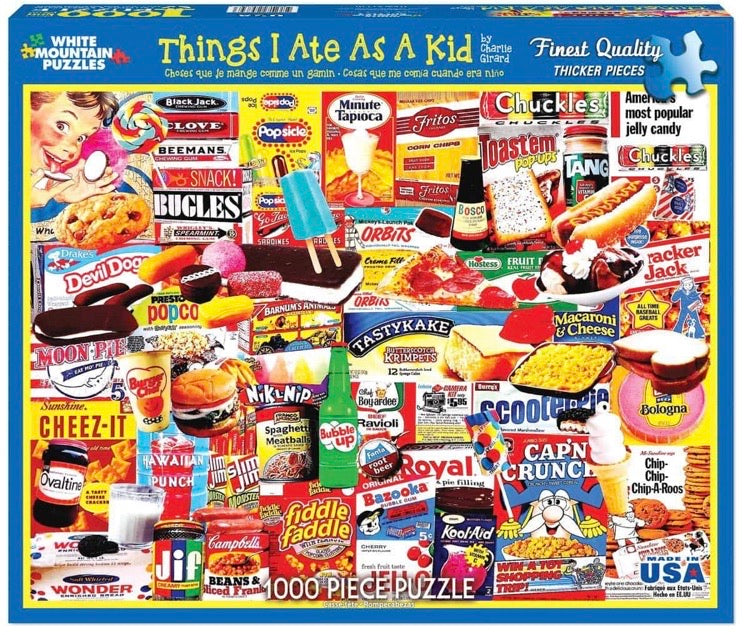 Puzzle Things I Ate As A Kid