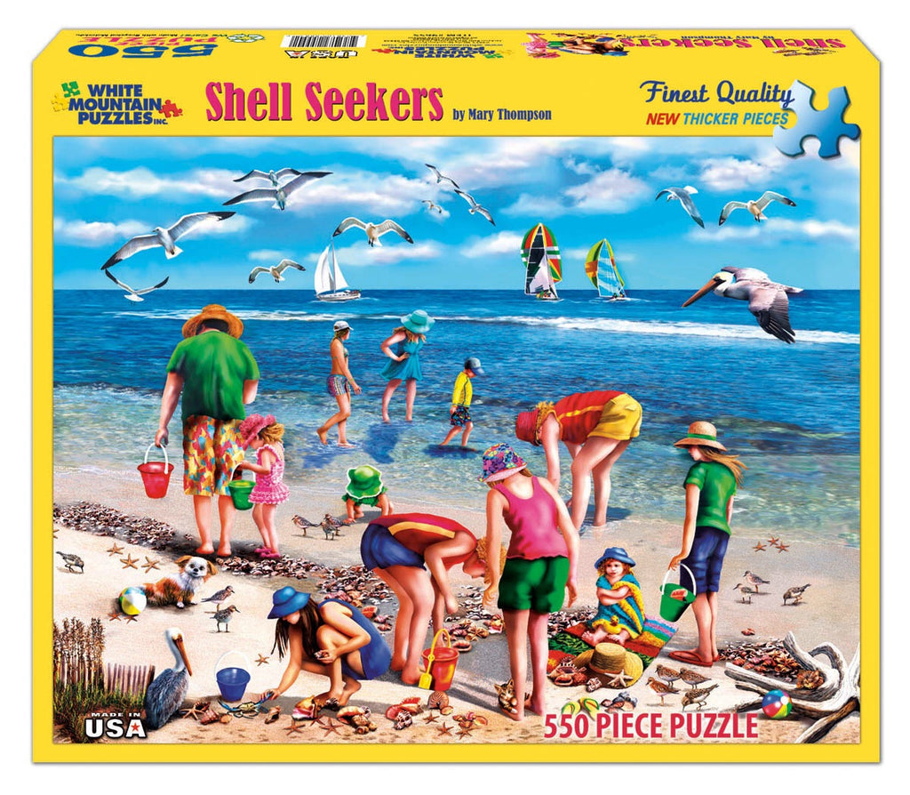 Puzzle Shell Seekers