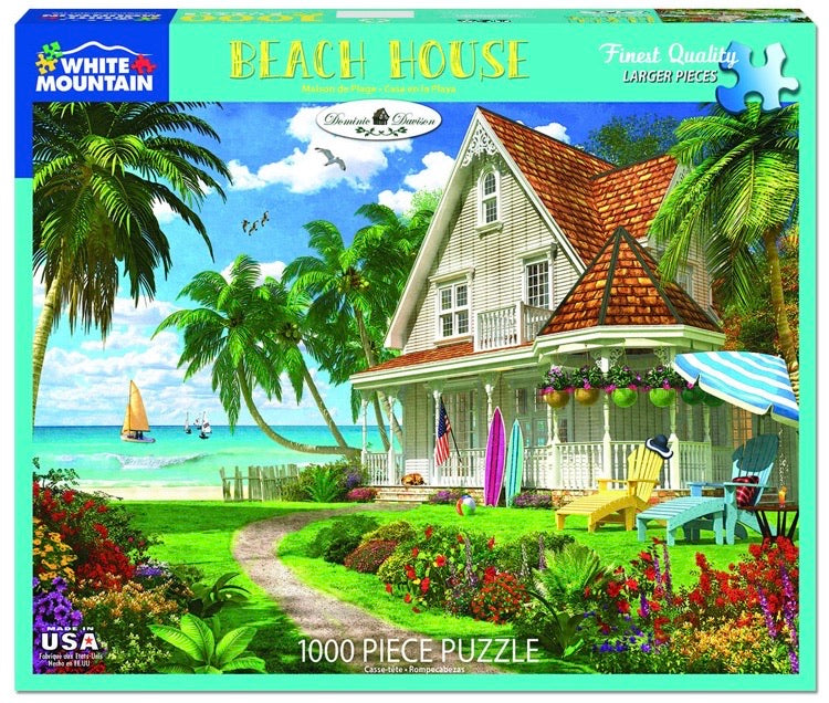 Puzzle Beach House