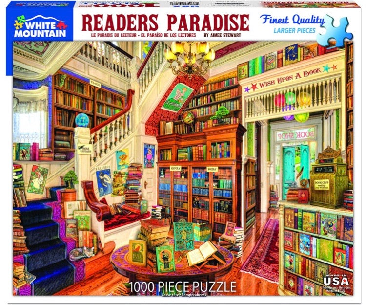 Puzzle Reader's Paradise
