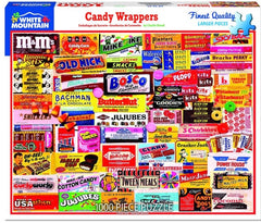 Puzzle Candy Wrappers