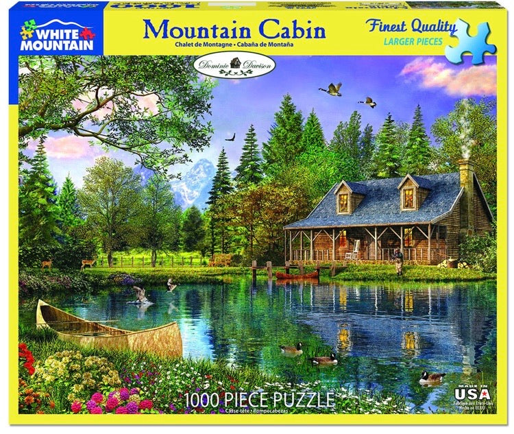 Puzzle Mountain Cabin