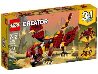 Lego 31073 Mythical Creature