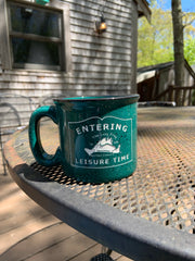 Lazy Frog Camp Coffee Mug