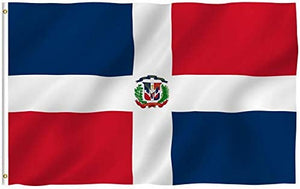 Dominican Republic Flag - 3x5 FT