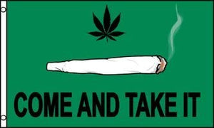 Come and Take It (Spliff) 3x5 ft Flag