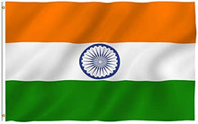 Load image into Gallery viewer, India Flag 3 X 5 Ft