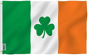 Ireland Shamrock Flag 3 X 5 Ft