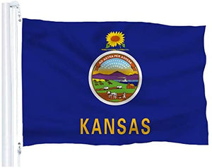 Kansas - State of Kansas Flag- 3x5 FT