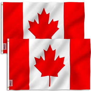 Canada Flag - 3x5   (2 Pack Option Available)