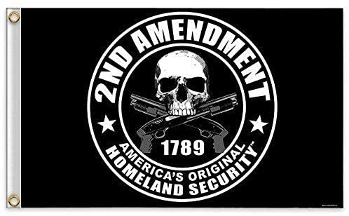 2nd Amendment - America's Original Homeland Security 1789 Flag