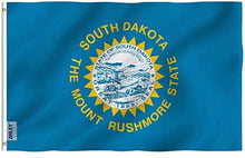 Load image into Gallery viewer, South Dakota State Flag - 3x5 Ft