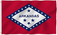 Load image into Gallery viewer, Arkansas State Flag 3 X 5 Ft