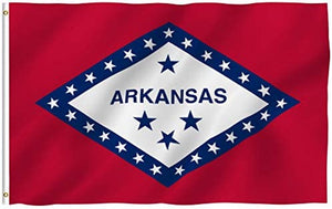 Arkansas State Flag 3 X 5 Ft