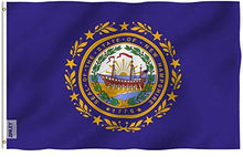 Load image into Gallery viewer, New Hampshire State Flag - 3x5 Ft