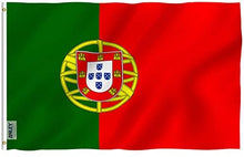 Load image into Gallery viewer, Portugal Flag 3x5 FT