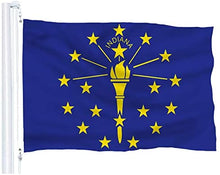 Load image into Gallery viewer, Indiana State Flag 3Ft x 5Ft