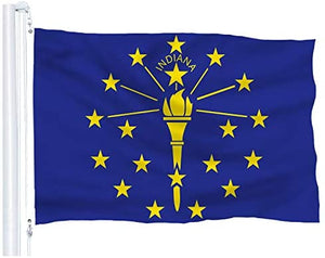 Indiana State Flag 3Ft x 5Ft