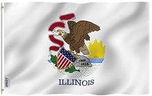 Load image into Gallery viewer, Illinois Flag