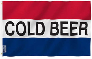 Cold Beer Flag 3x5 FT