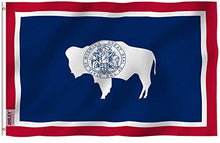 Load image into Gallery viewer, Wyoming State Flag - 3x5FT