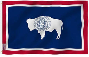 Wyoming State Flag - 3x5FT