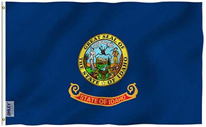 Idaho State Flag 3 X 5 Ft