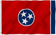 Load image into Gallery viewer, Tennessee State Flag - 3x5 FT