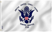 Load image into Gallery viewer, US Coast Guard Flag