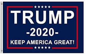 Donald Trump for President 2020 Flag - Keep America Great Flag 3x5 Feet with Grommets