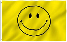 Load image into Gallery viewer, Happy Face - Yellow Smiley Face Flag 3 X 5 Ft