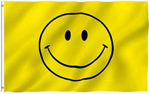 Happy Face - Yellow Smiley Face Flag 3 X 5 Ft