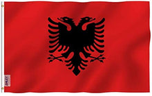 Load image into Gallery viewer, Albania Flag 3x5 FT