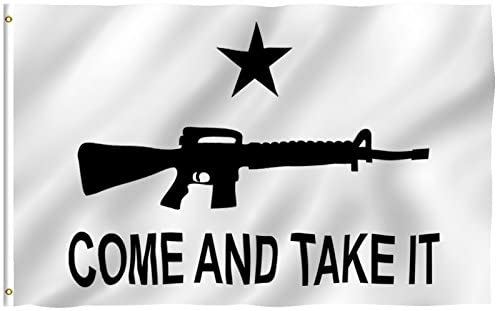 Come and Take It - M-4 Assault Rifle American FLAG