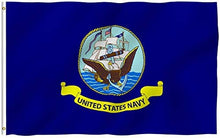 Load image into Gallery viewer, US Navy Flag