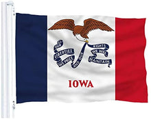 Load image into Gallery viewer, Iowa State Flag - 3x5 FT