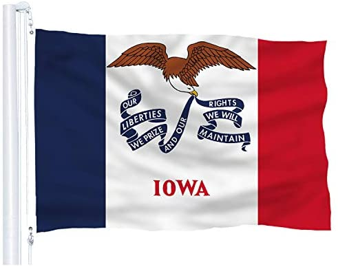 Iowa State Flag - 3x5 FT
