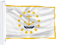 Load image into Gallery viewer, Rhode Island State Flag 3x5FT